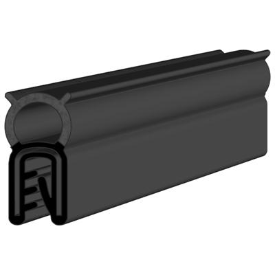 Compound Epdm And Plastic Rubber Extrusion Seal Strips