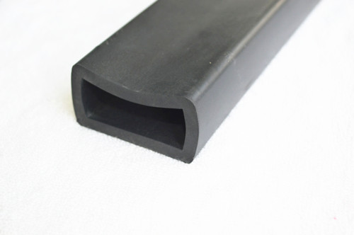 Epdm Solid Rubber Seal Strip With Hollow Center Seashore