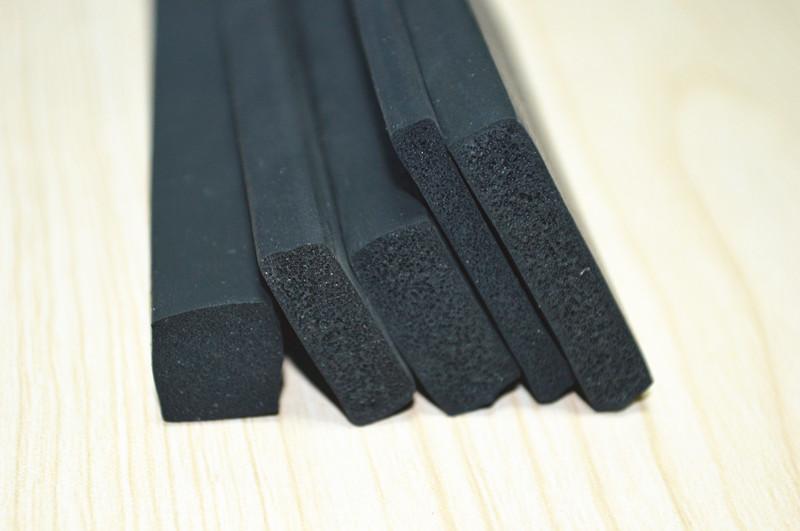 Open Cell Foam Sponge Rectangular Cord Rubber Seal Gasket