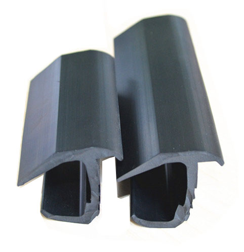 T Section Round Rubber Seal Strip Extrusion Profiles For